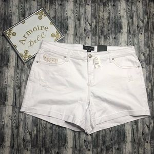 Cato Distressed Shorts